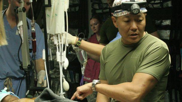 HT peter rhee 3 jtm 140613 16x9 608 Trauma Surgeon Uses War Zone Skills to Better Treat Patients at Home