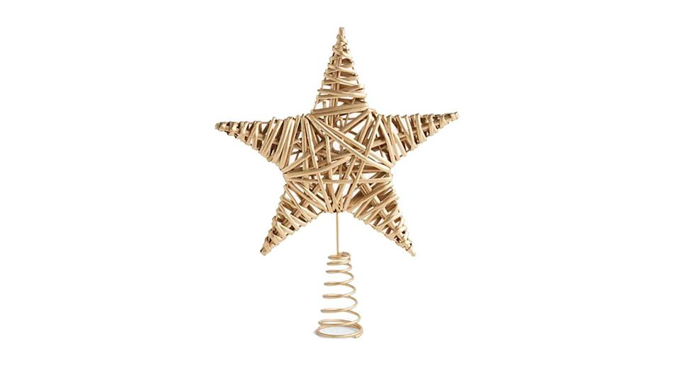 Gemstone Forest Willow Star Tree Topper