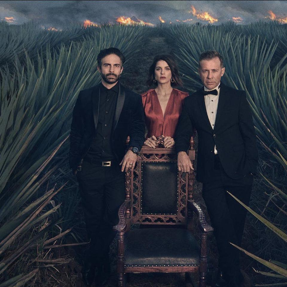 """<p>Think of <em>Monarca </em>as a telenovela in the body of a glossy drama. In the first episode,Ana María (Irene Azuela) returns to Mexico to take charge of a billion-dollar tequila business, only to fight with her two brothers over the company's direction. Betrayal, revenge, corruption ensue in the Salma Hayek-produced drama. </p><p><a class=""""link rapid-noclick-resp"""" href=""""https://www.netflix.com/watch/80211572?source=35"""" rel=""""nofollow noopener"""" target=""""_blank"""" data-ylk=""""slk:Watch Now"""">Watch Now</a></p>"""