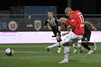 Burak Yilmaz scored 16 goals for Lille, including the decisive penalty kick against Angers which secured the Ligue 1 title