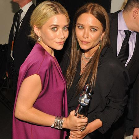 Style your hair like the Olsen sisters