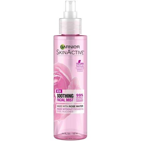 "<p><strong>Garnier</strong></p><p>walmart.com</p><p><strong>$6.96</strong></p><p><a href=""https://go.redirectingat.com?id=74968X1596630&url=https%3A%2F%2Fwww.walmart.com%2Fip%2F854348679&sref=http%3A%2F%2Fwww.prevention.com%2Fbeauty%2Fskin-care%2Fg27454626%2Frose-skincare-products%2F"" target=""_blank"">SHOP NOW</a></p><p>For a fresh, dewy (but never oily!) look, Garnier's hydrating facial mist will be your new go-to. Infused with rose water, a simple spritz will boost moisture, reduce redness, and calm irritation. Spray it on a fatigued face to <strong>perk up skin or refresh your makeup</strong>—and enjoy the lovely scent while you're at it.<br></p>"