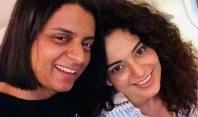 Acid attack survivor Rangoli Chandel's tweet thanking sister Kangana Ranaut will leave you teary-eyed