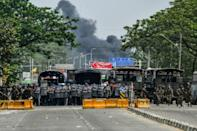 Soldiers and police have in recent weeks been staging near-daily crackdowns against demonstrators
