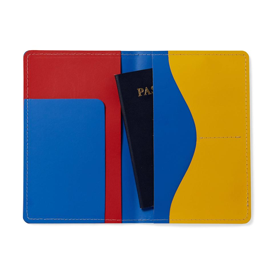 """<p>moma.org</p><p><strong>$20.00</strong></p><p><a href=""""https://store.moma.org/accessories/travel/primary-passport-case/8620.html"""" rel=""""nofollow noopener"""" target=""""_blank"""" data-ylk=""""slk:Shop Now"""" class=""""link rapid-noclick-resp"""">Shop Now</a></p><p>He'll really appreciate this funky passport holder once he can actually travel again. </p>"""