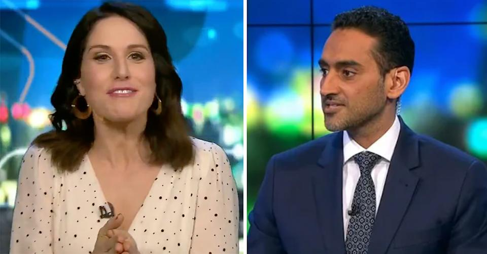 the project waleed aly and Rachel Corbett clash over Chrissy Teigen's apology