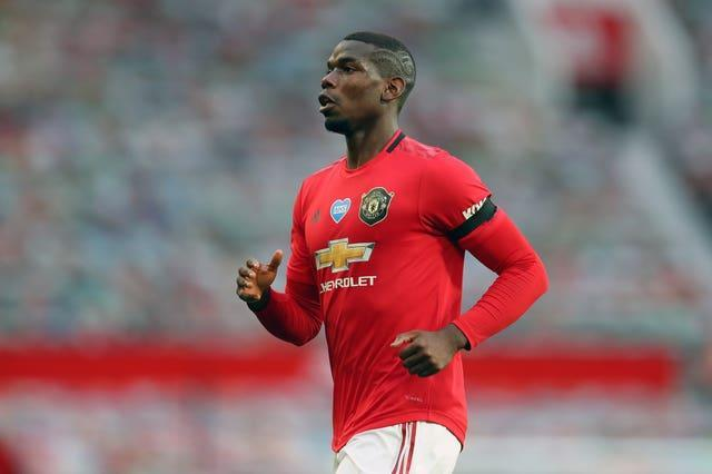 Paul Pogba rejoined United in 2016 (Catherine Ivill/PA).
