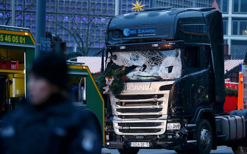 Terrorists used a truck in an attack on a Christmas market in Berlin - Credit: Reuters
