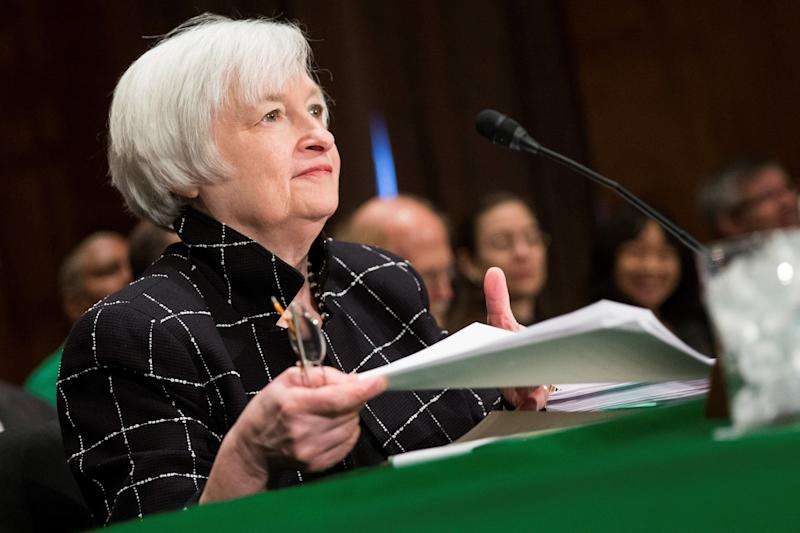 """The first woman to lead the Federal Reserve Board is also one of the <a href=""""http://www.huffingtonpost.com/entry/janet-yellen-most-powerful-person_us_5672d3d6e4b0648fe3026341?utm_hp_ref=janet-yellen"""">most powerful people</a> in the world. Last year, Yellen oversaw the Fed's decision to raise interest rates for the first time in nearly a decade -- a pivotal decision that highlighted just how important she is in the world economy. She's also <a href=""""https://www.washingtonpost.com/business/economy/new-fed-chief-janet-yellen-has-long-history-of-breaking-barriers/2014/02/02/9e8965ca-876d-11e3-833c-33098f9e5267_story.html"""">no stranger to breaking barriers</a>: She started her career as the only woman in her Ph.D. class, and continued to take on traditionally male-dominated centers of power like Berkeley's Haas School of Business, the White House Council of Economic Advisers and the San Francisco Fed."""