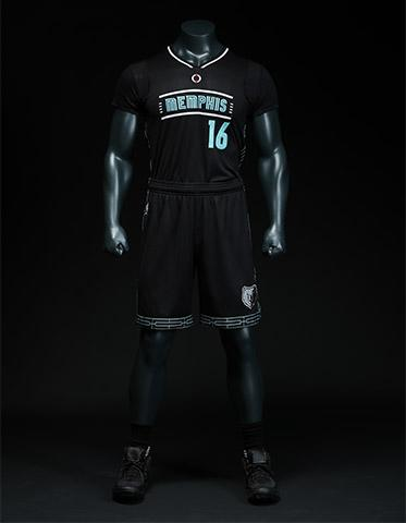 42e1d4451017 The Memphis Grizzlies  new MLK50 Pride alternate uniform. (Photo via  Grizzlies)