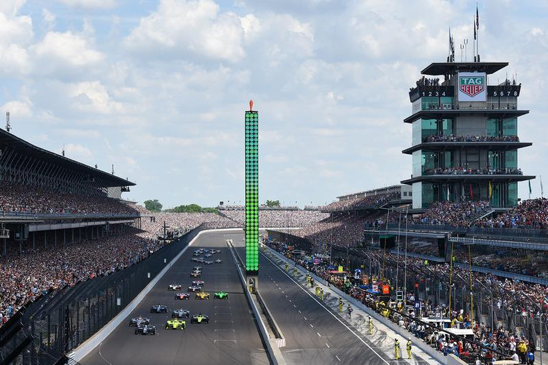 "#1: Indianapolis Motor Speedway: 236,986 mph *<span class=""copyright"">IndyCar Series</span>"