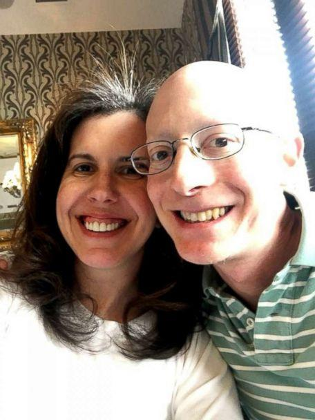 PHOTO: Evan Freiberg, a rare cancer survivor, is photographed here with his wife, Felicia Freiberg (Evan Freiberg)