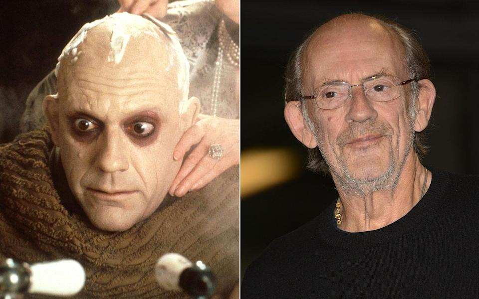 Christopher Lloyd as Fester Addams - Credit: Rex Features