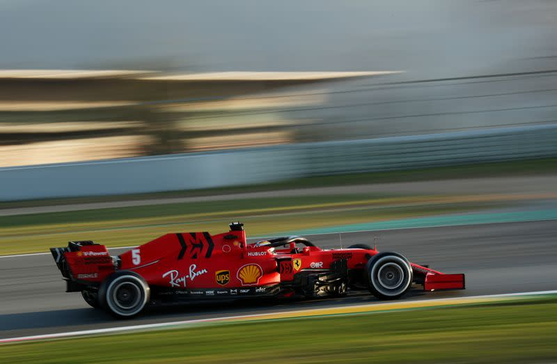 Mercedes suspect Ferrari are playing down their true pace