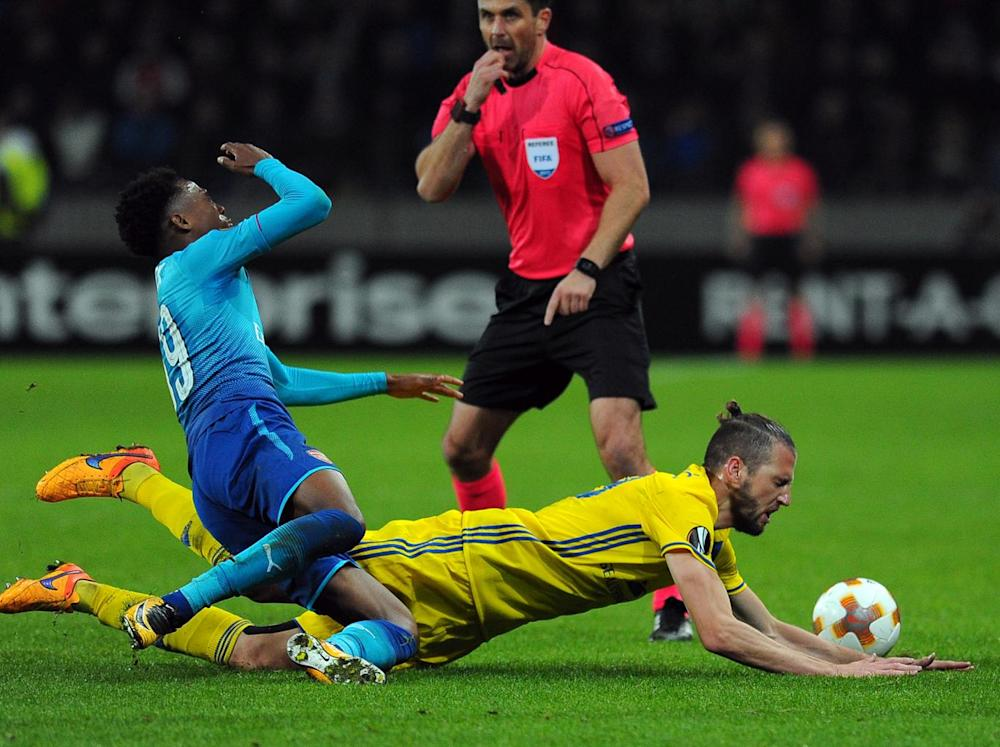 BATE didn't make life easy for Arsenal (Getty)