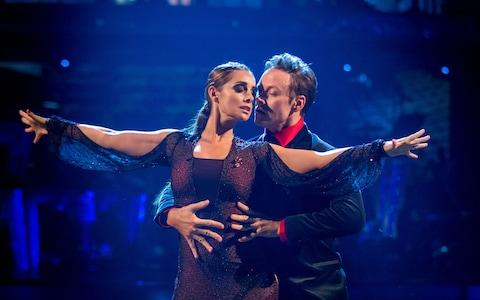 Kevin Clifton and Louise Redknapp on the 2016 series of Strictly Come Dancing - Credit: BBC