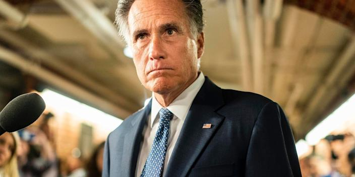 Senator Mitt Romney in January 2020.