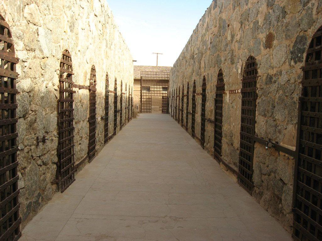 """<p><strong>Yuma Territorial Prison - Yuma, AZ</strong></p><p>The Yuma-set prison opened its doors in 1876 and operated for 33 years. During the height of its operation, the prison housed murderers and thieves, but that's not all. <a href=""""https://www.azcentral.com/story/news/local/arizona-contributor/2016/10/11/who-haunts-old-yuma-territorial-prison/91870898/"""" target=""""_blank"""">Over 100 people died on the site,</a> and the worst inmates were chained to ring-bolts in what was known as the """"dark cell."""" Visitors can still explore the aforementioned space... if they're brave enough. Many have even reported being """"touched"""" by unseen forces.</p><p><strong></strong>Photo: Flickr/<a href=""""https://www.flickr.com/photos/kenlund/4406912674/in/photolist-a2iRfq-7HqApU-7HqyxE-7HmgPZ-7HqBBd-7HqzB1-7HqC8G-7HmDwF-89SBMQ-br2gwc-7HqcjN-7HqxWN-7HqyZQ-7Hqxqj-7HmFu4-7HmNCx-7HqmDY-7HmF8e-7HmEQD-7HmBTV-7HmBrc-7HmE6c-7Hms3v-7HqwXw-7Hmsg8-7HqwxU-7HmEoc-7Hqnoh-7Hqygh-7HqKfG-7HmqCX-7HmrRP-7Hqowm-7HmsJe-7Hq2xo-7HqJZE-7Hy3CS-89SBTW-89SCbS-G6ntDr-8bFbpi-8bFbwX-8bFbSK-sb296B-rxkJuu"""" target=""""_blank"""">Ken Lund</a></p>"""