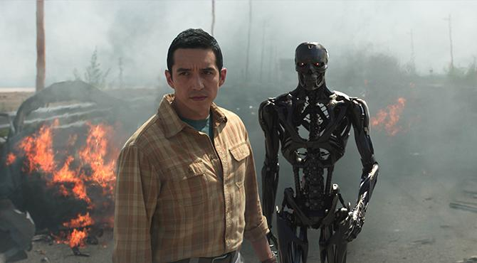 Gabriel Luna en Terminator: destino oscuro (© 2018 SKYDANCE PRODUCTIONS AND PARAMOUNT PICTURES. ALL RIGHTS RESERVED.)