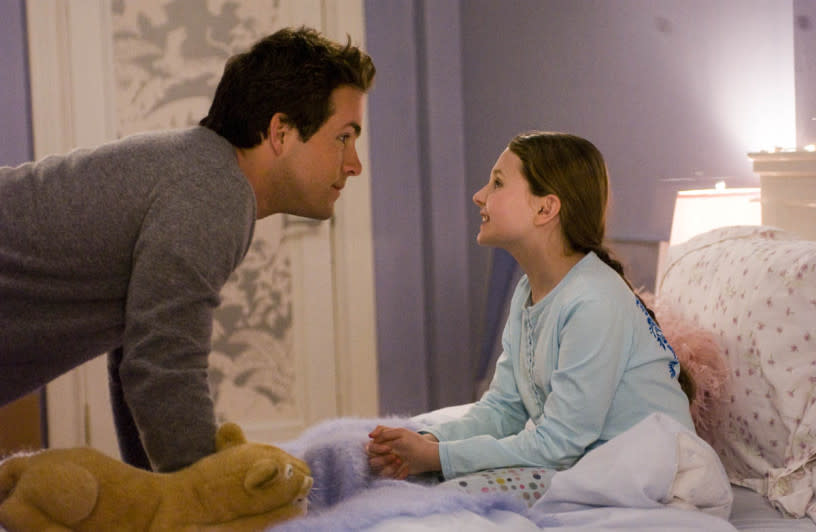 Allow for open conversation before bed to keep their mind distracted from any fears they have. Source: <span>Universal Pictures</span>