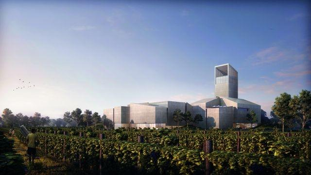 Beijing's future 'Universal Wine Museum' will be surrounded by vines