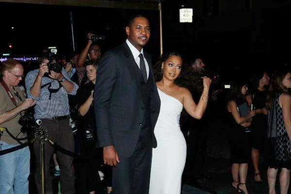 NEW YORK, NY – SEPTEMBER 07: Carmelo Anthony and La La Anthony attend the Tom Ford Fall 2016 fashion show during New York Fashion Week September 2016 at The Four Seasons on September 7, 2016 in New York City. (Photo by Taylor Hill/FilmMagic)