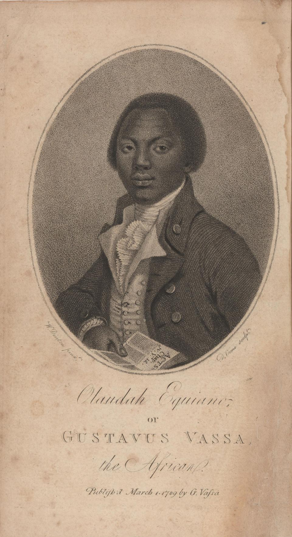 Portrait of Olaudah Equiano (Photo: Heritage Images via Getty Images)