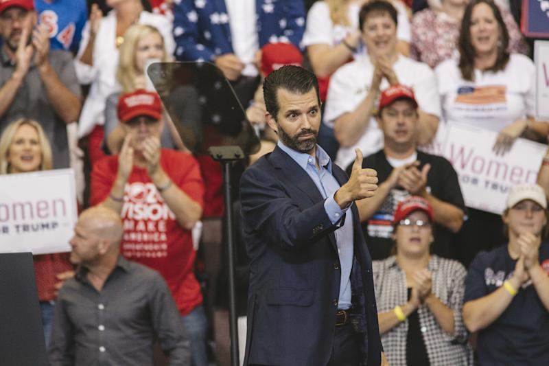 """Trump Reportedly Said Don Jr. Isn't the """"Sharpest Knife in the Drawer"""""""