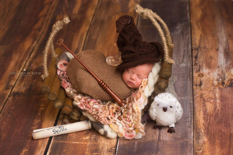 When Quinn Watson was born in August 2016, her parents celebrated her arrival with a special newborn photo shoot.