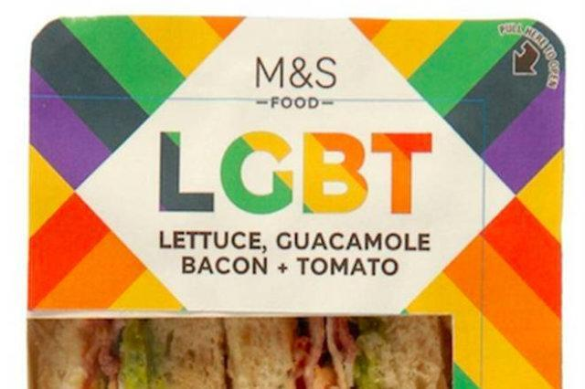 Some people offended over M&S gay sandwich