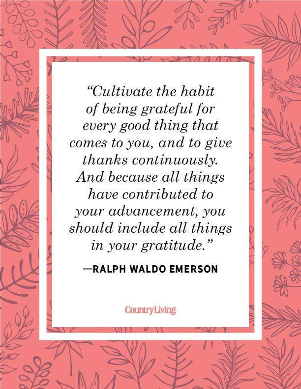 """<p>""""Cultivate the habit of being grateful for every good thing that comes to you, and to give thanks continuously. And because all things have contributed to your advancement, you should include all things in your gratitude.""""</p>"""