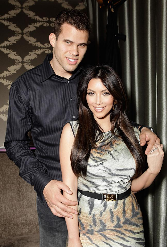 """<b>Kim Kardashian and Kris Humphries</b><br><br>For months, we heard about Kim Kardashian and Kris Humphries' impending nuptials. The media-savvy Kardashian was photographed meeting with Vera Wang about her three dresses, tasting cakes, and registering for pricey presents at Gearys of Beverly Hills. And in the end, the $10 million August 20 affair, filmed for the E! special """"Kim's Fairytale Wedding,"""" was pretty close to perfect. It was the marriage that needed work. Kardashian filed for divorce barely two months later, saying that she had made a mistake. """"I think when you know so deep in your heart that you just to listen to your intuition and follow your heart, there's no right or wrong thing to do,"""" she explained after the breakup. Too bad she didn't hear that voice 72 days earlier! The divorce isn't expected to be finalized until next year, and has already cost an estimated $250,000. She's now famously dating Kanye West."""
