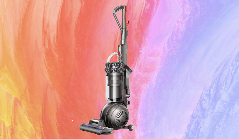 The self-adjusting cleaner head ensures you're getting the best suction across all floor types. (Photo: Dyson)