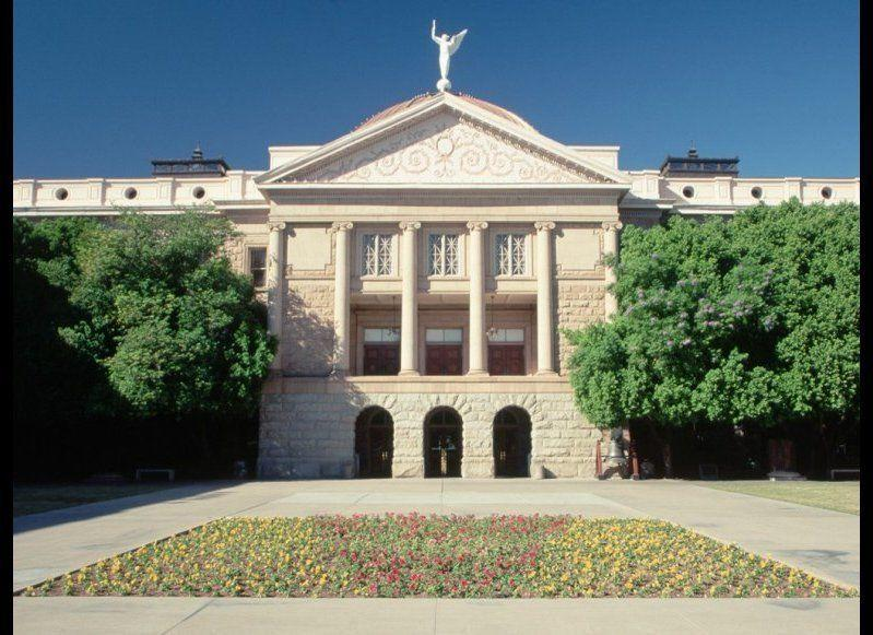 <strong>ARIZONA STATE CAPITOL MUSEUM</strong> Phoenix, Arizona <strong>Year completed: </strong>1900 <strong>Architectural style</strong>: Classical Revival <strong>FYI:</strong> The building, once home to the territorial government, is now a museum dedicated to the history of Arizona. The governor's office and state House and Senate floors are located in other buildings in the same complex off Wesley Bolin Plaza. <strong>Visit:</strong> The museum exhibits are open from Monday to Friday, 9 a.m. to 4 p.m., with staff available to answer questions from 10 a.m. to 2 p.m. Or, reserve a guided tour (from 9:30 a.m. to 12:30 p.m.)
