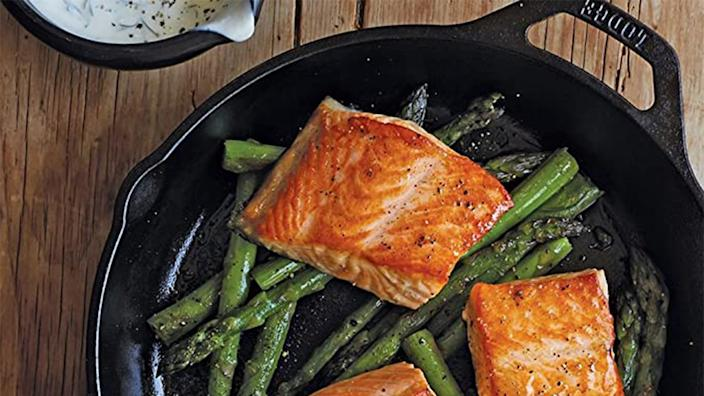 There was a lot to love about the larger version of this Lodge Cast-Iron Skillet.