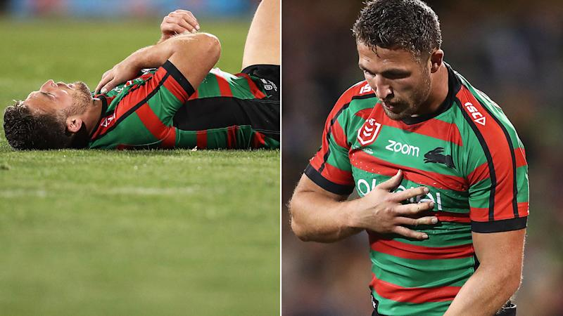 Sam Burgess is out of Great Britain's end of season tour with injury.