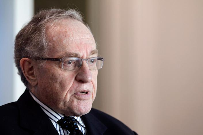 Attorney and law professor Alan Dershowitz discusses allegations of sex with an underage girl levelled against him, during an interview at his home in Miami Beach January 5, 2015.