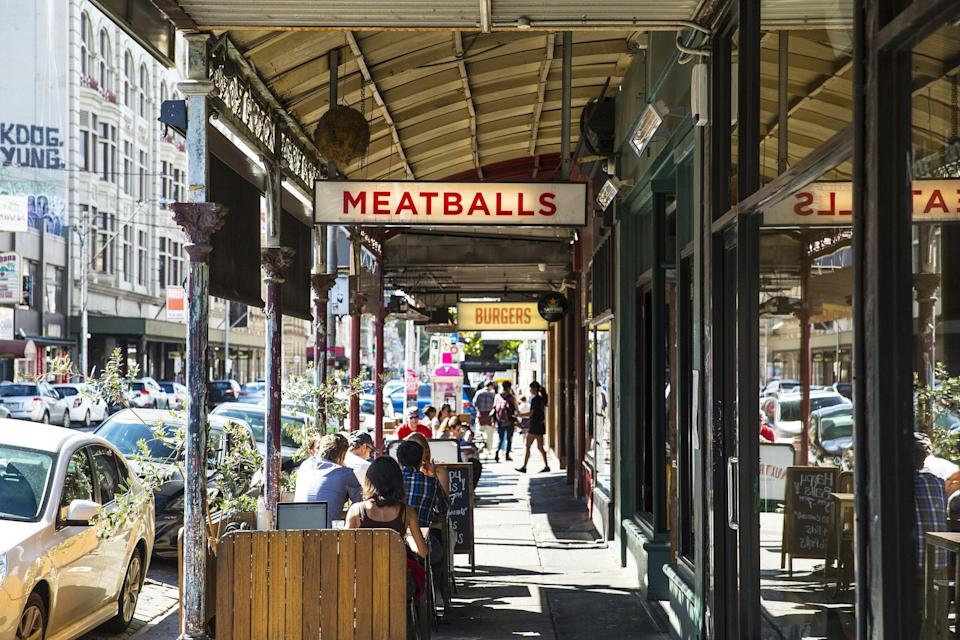 Smith Street in Melbourne took the top spot (Josie Withers)