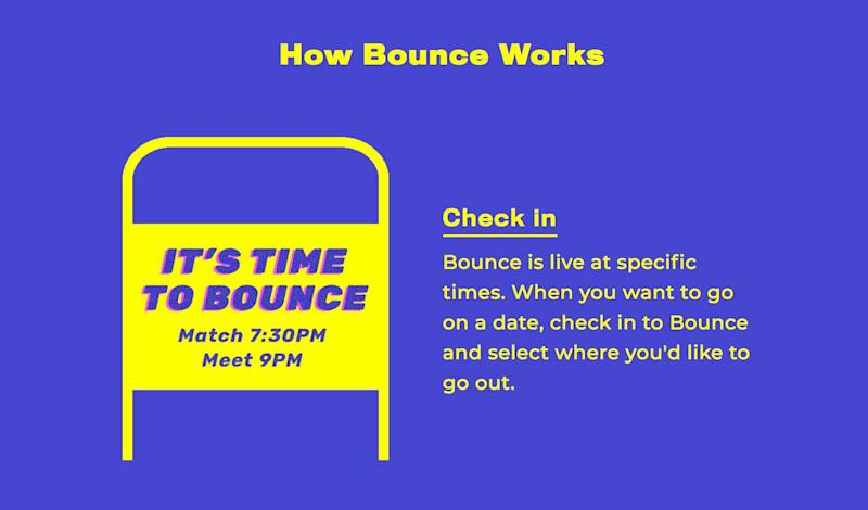 After about a year of development, Bounce was launched in New York City in 2018.
