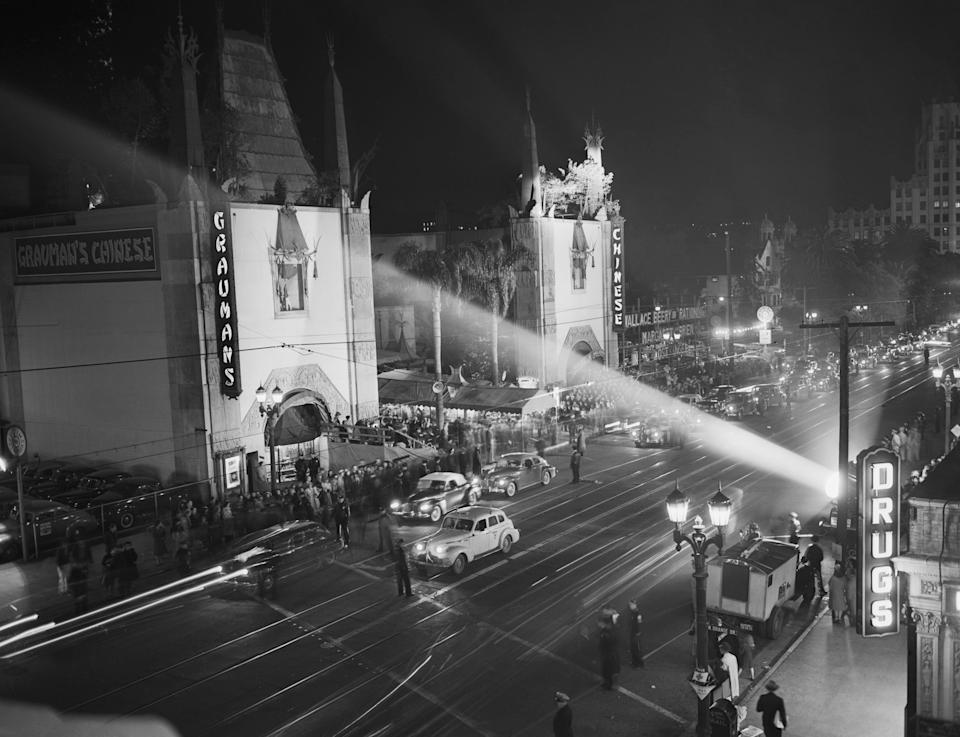 Grauman's Chinese Theatre is believed to house the ghost of actor Victor Kilian. (Photo: Getty Images)