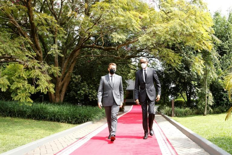 Kagame hailed Macron's speech sayiong 'his words were something more valuable than an apology'