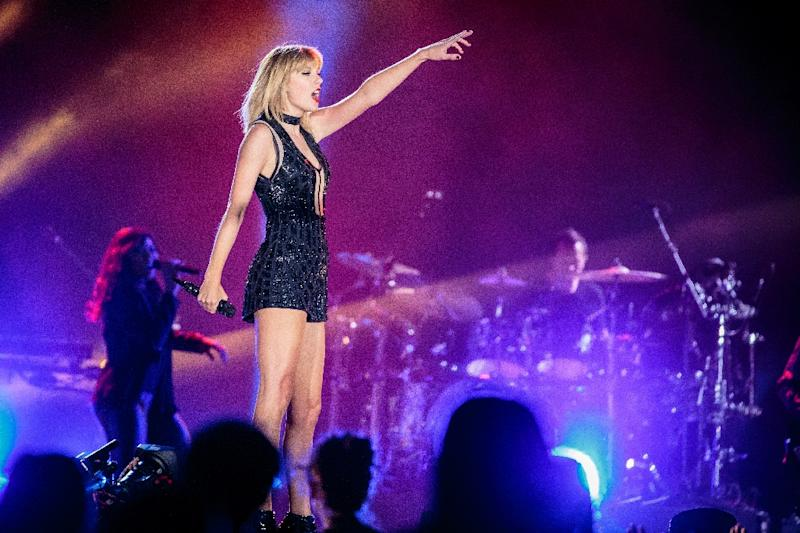 Singer-songwriter Taylor Swift performs her only full concert of 2016 during the Formula 1 United States Grand Prix at Circuit of The Americas in Austin, Texas October 21, 2016
