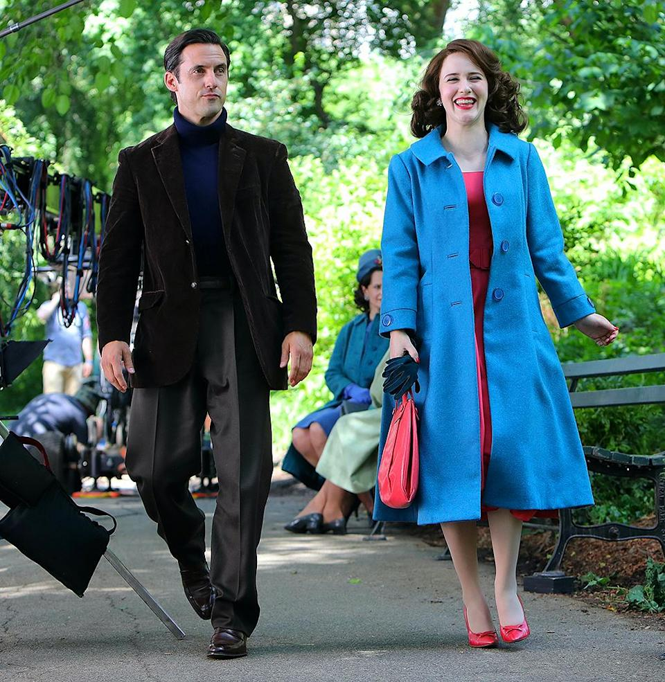 <p>New costar alert! Milo Ventimiglia has officially joined the cast for season 4! On June 10, the actor was photographed filming with Brosnahan. </p>