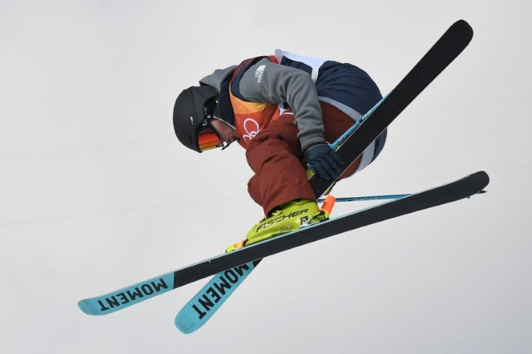 USA's David Wise flies to victory in the men's ski halfpipe during the Pyeongchang Winter Olympics, landing a winning third run after two dramatic fails