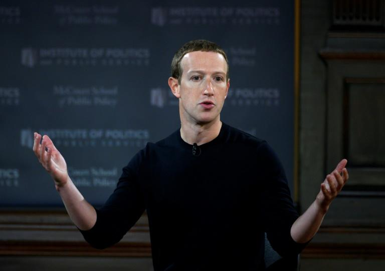Facebook CEO Mark Zuckerberg says he is more confident about the social network's response to foreign manipulation efforts (AFP Photo/ANDREW CABALLERO-REYNOLDS)