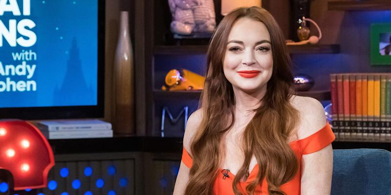 Lindsay Lohan Just Posted A Nude Throwback Photo On Instagram And