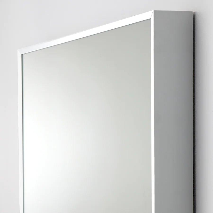 <p>Framed with aluminum, the <span>Ikea HOVET Mirror</span> ($129) gives off a sleek, modern look.</p>