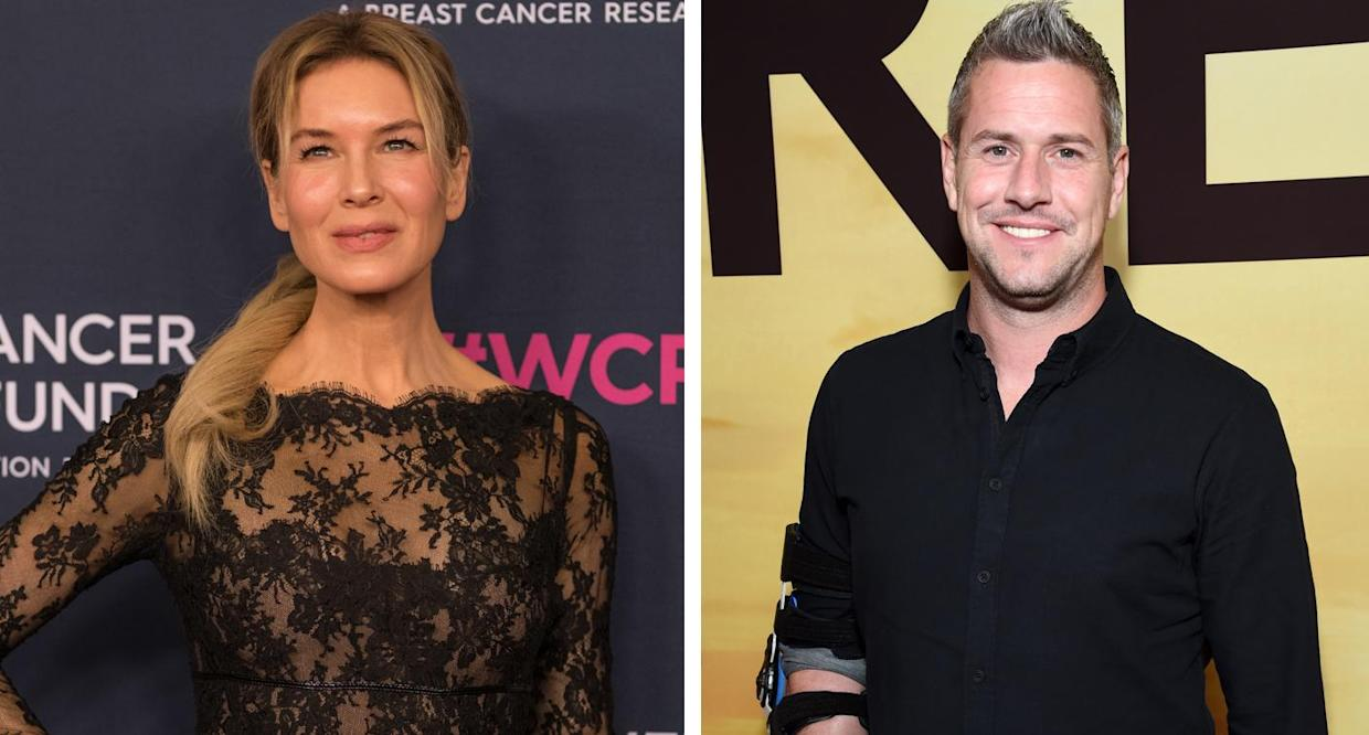 Renée Zellweger is reportedly dating Ant Anstead after meeting him on set of Celebrity IOU: Joyride.