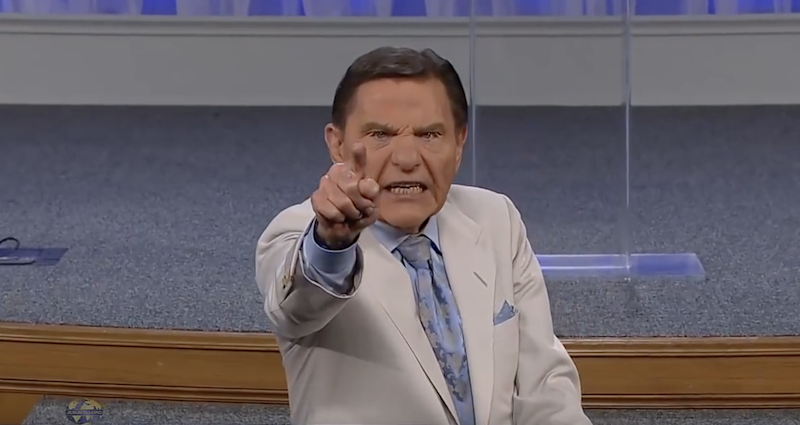 Pastor Kenneth Copeland prayed to 'blow the wind of God' at coronavirus during the televangelist's sermon
