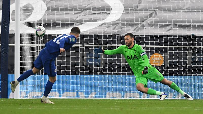 Tottenham 1-1 Chelsea (5-4 pens): Werner off the mark but Mount miss sends Spurs through